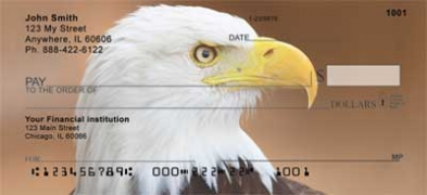 Click on Bald Eagles  Personal Checks For More Details