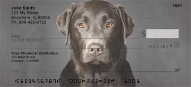 Click on Black Labradors  Personal Checks For More Details