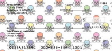 Click on Skulls  Personal Checks For More Details