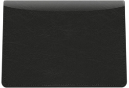 Click on Black Vinyl Top Stub Checkbook Cover For More Details