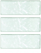 Learn more about Green Marble Blank Stock For 3 to a Page Voucher Computer Checks