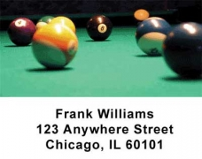 Click on Billiard Address Labels For More Details