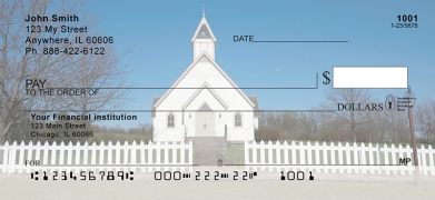 Click on Country Churches  Personal Checks For More Details