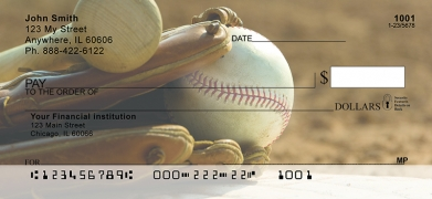 Click on It's all about the Baseball  Personal Checks For More Details