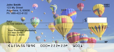 Click on Hot Air Balloons  Personal Checks For More Details