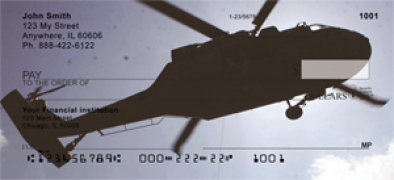 Click on Helicopters in the Sky  Personal Checks For More Details