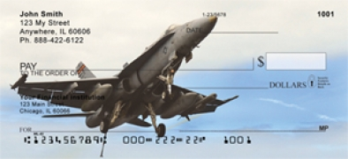 Click on FA-18 Aircraft  Personal Checks For More Details