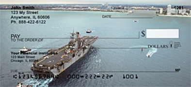 Click on USS Iwo Jima  Personal Checks For More Details