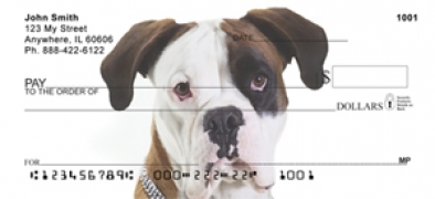 Click on Boxer Puppies  - Boxer Personal Checks For More Details