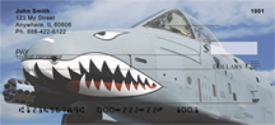 Click on Air Force A-10 Warthog - Warthog Personal Checks For More Details