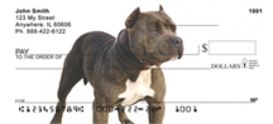 Click on Pit Bull  - Pit Bulls Personal Checks For More Details