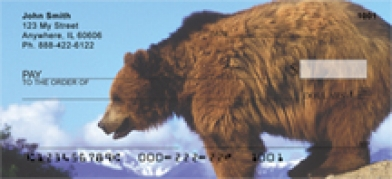 Click on Grizzly Bear - Grizzly Bears  Personal Checks For More Details