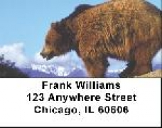 Click on Grizzly Bear Checks - Grizzly Bears Address Labels For More Details