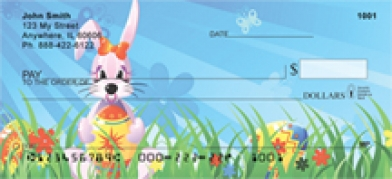 Click on Easter - Easter Background  Personal Checks For More Details