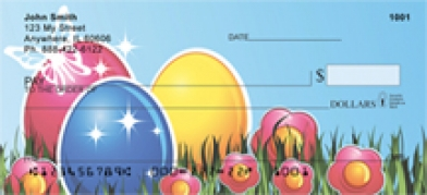 Click on Easter - Easter Egg  Personal Checks For More Details