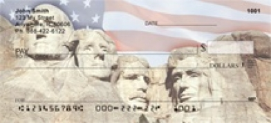 Click on Symbols of America Personal Checks For More Details