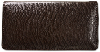 Click on Brown Snakeskin Leather Checkbook Cover For More Details