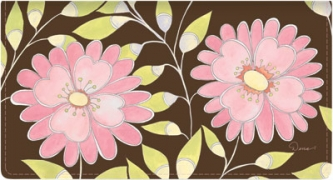 Click on Sweet Blooms Fabric Side Tear Checkbook Cover For More Details