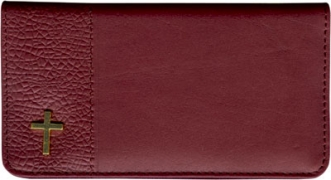 Click on Blessings Leather Wallet Style Checkbook Cover For More Details