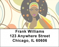 Click on African Beauty Address Labels For More Details