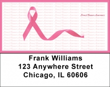 Click on Breast Cancer Awareness Ribbon Address Labels For More Details