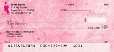Click on Faith, Hope & Strength  Personal Checks For More Details