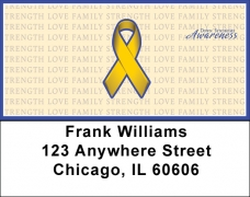 Click on Down Syndrome Awareness Ribbon Address Labels For More Details