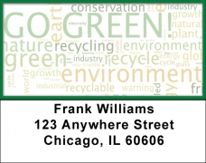 Click on Environmental Awareness Address Labels For More Details