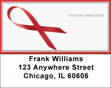 Click on HIV/Aids Awareness Ribbon Address Labels For More Details