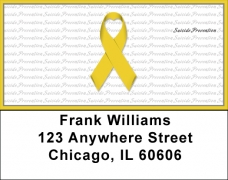 Click on Suicide Prevention Ribbon Address Labels For More Details