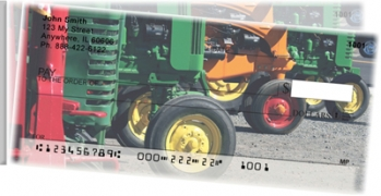Click on Tractors Side Tear Personal Checks For More Details