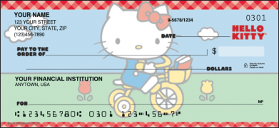 Click on Hello Kitty - 1 Box Personal Checks For More Details