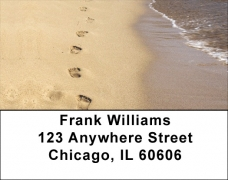 Click on Footprints on the Beach Labels For More Details