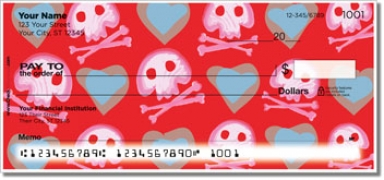 Click on Cute Skull & Crossbones Personal Checks For More Details