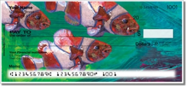 Click on Painted Clown Fish Personal Checks For More Details