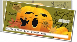 Click on Jack-o-Lantern Side Tear Personal Checks For More Details