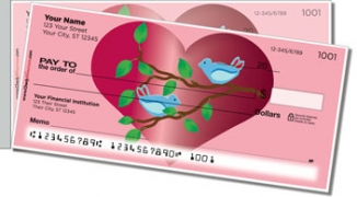 Click on Love Bird Side Tear Personal Checks For More Details