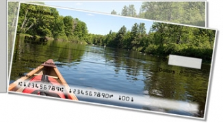Click on Canoeing Side Tear Personal Checks For More Details