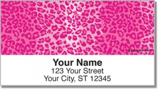 Click on Leopard Address Labels For More Details