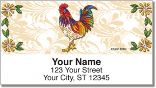 Click on Embry Rooster Address Labels For More Details