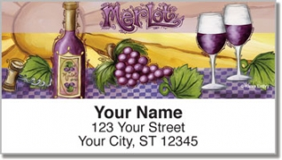 Click on Embry Vino Address Labels For More Details