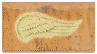 Click on Heavenly Wings Checkbook Cover For More Details