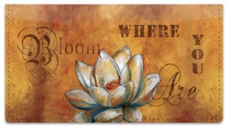 Click on Knold Garden Checkbook Cover For More Details