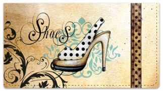 Click on Knold Shoes Checkbook Cover For More Details