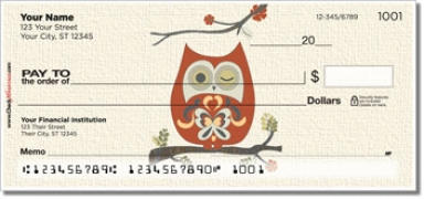 Country Owl Personal Checks