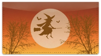 Click on Halloween Witch Checkbook Cover For More Details
