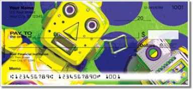 Click on Retro Robot Personal Checks For More Details