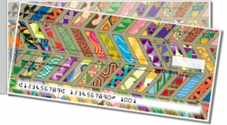 Click on Quilt Pattern Side Tear Personal Checks For More Details