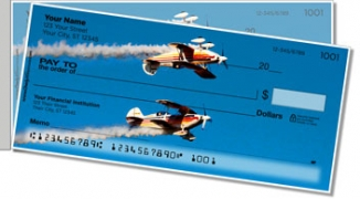 Click on Aerobatic Air Show Side Tear Personal Checks For More Details