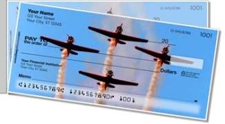 Click on Airplane Aerobatics Side Tear Personal Checks For More Details